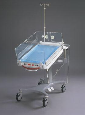 Открытая кроватка для ново-рожденных и недоношенных детей variotherm